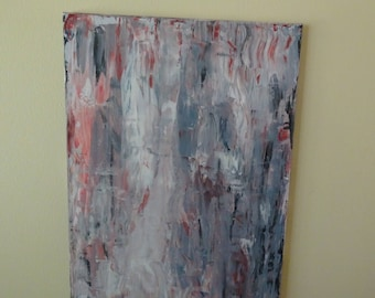 Modern abstract painting blue dream