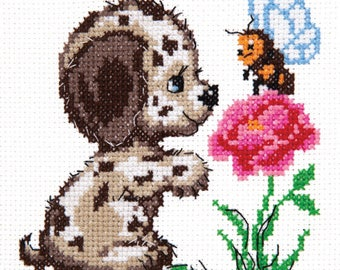 Cross Stitch Kit beginner / children / animals
