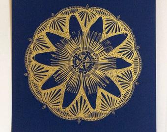 Flor de la Pasion Mandala