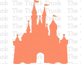 Disney Castle svg   Cinderella svg   Disney World   Cinderella   Princess   cutting file package svg, jpg, dxf, gsp, pdf, & studio 3 files