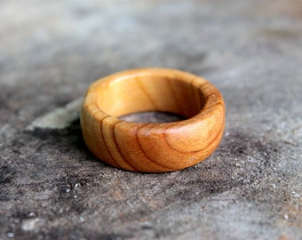 Wooden ring, wooden rings for women, mens wooden ring, wooden ring for men, womens wooden ring, wooden apricot ring, wood ring, wood rings