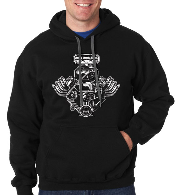 A tribute to the Subaru Boxer Engine Hooded Sweatshirt, Boxer Engine hoodie, JDM sweatshirt