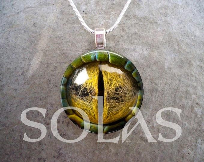 Dragon Eye Jewelry - Glass Pendant Necklace - Dragon Eye 21