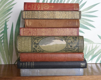 Vintage Book Bundle for Display