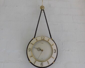 Europa 7 Jewels Rope Clock - Made in Germany
