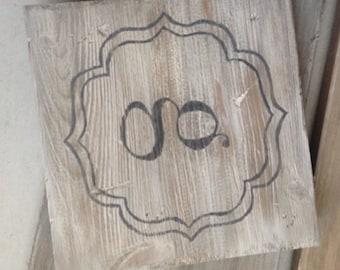 Monogram tile