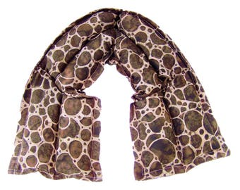 Neck wrap, Neck heating pad, Heat therapy,Flax heating pad,Hot cold pack, Microwave heating pad,Microwave pack, Brown Giraffe Heat Neck pack