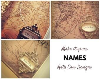 Name Change - Personalise, customise