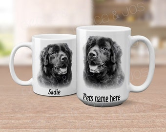 Newfie Coffee Mug | Gentle Giant Mug | Personalized Newfie Mug
