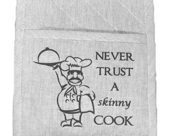 Pot Holder, Grey Oven Mitt, Chef Gift, Farmhouse Pot Holders, Bohemian Oven Mitt, Hot Pad, Pot Holder Farmhouse, Hostess Gift, Gift for Him