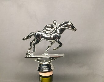 Horse Racing Wine Stopper, Horse Racing, Wine, Horse Racing Gift, OTB Gift,  Horse Drinking Gift, Horse Lover Gift, Kentucky Derby Gift