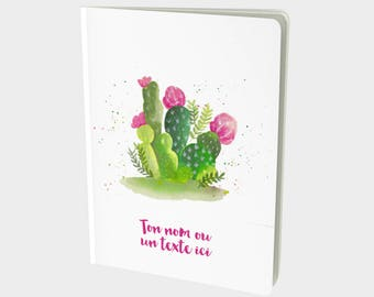 Notebook - Bullet journal - diary - planning - Cactus