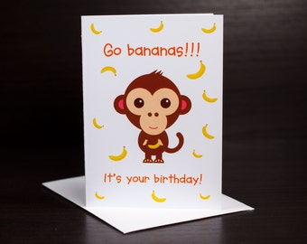 Little Collection: Go Bananas!!! It's your birthday!