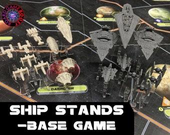 Star Wars: Rebellion Ship Stands -BASE GAME