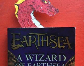 Customizable Dragon Bookmark