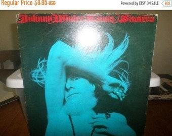 Vintage 1974 Vinyl LP Record Johnny Winter Saints & Sinners Very Good Condition Columbia Records 5561