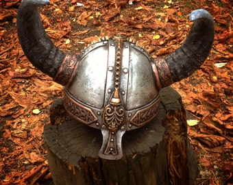 Viking Armor Skyrim Helmet Medieval Armor Larp Helmet Nord Skyrim Helmet Medieval Helmet Viking Costume Party Costume Masquerade Mask Helmet