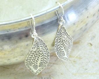 Fruit & Vine Silver Earrings // Sterling Silver Earrings // Sterling Silver // Bohemian Jewelry // Village Silversmith