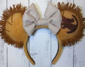 Lion King Simba Inspired Ears