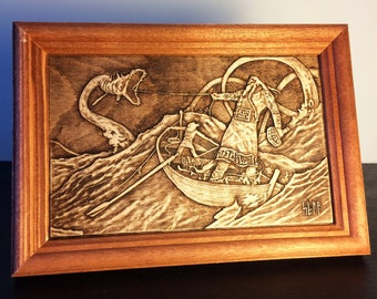 Carved wooden picture with individual image, Customization, Production by photo, 10x15 or 15x20, perfect original gift