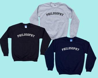 PHILOSOPHY - Crewneck Sweatshirt