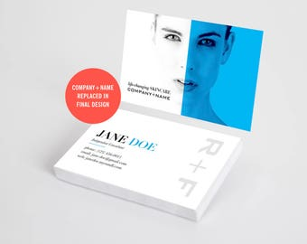 Rodan and Fields Business Cards, Consultant Cards, RF Cards, Skincare Business Card, Rodan Fields, Personalized, Digital