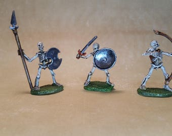 Skeleton Miniatures for RPG