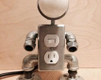 Robot lamp (2 in 1) v2