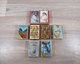 Vintage Congress brand mid century playing cards- 8 decks of cards for one price- great condition, full decks