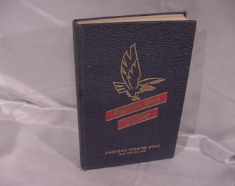 Sale! 1940s Book Hardcover America Goes To War American Theatre Wing War Svcs.