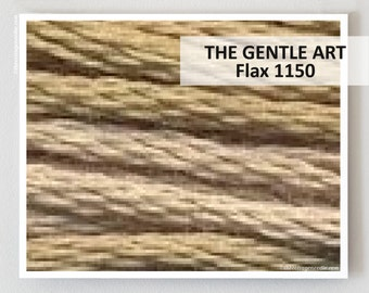 FLAX 1150 Gentle Art GAST hand-dyed embroidery floss cross stitch thread at thecottageneedle.com