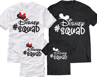 Disney shirts-Disney Squad Shirt-Disney Squad shirt-Disney Family Shirts -Disney World shirt-Disney shirt-Disney trip-Family Disney Shirts |