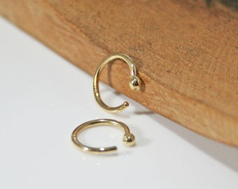 Huggie Earrings, Small Gold Hoops, Tiny Hoop Earrings, Solid Gold Hoop Earrings, 14k, 18k, petite hoop earrings