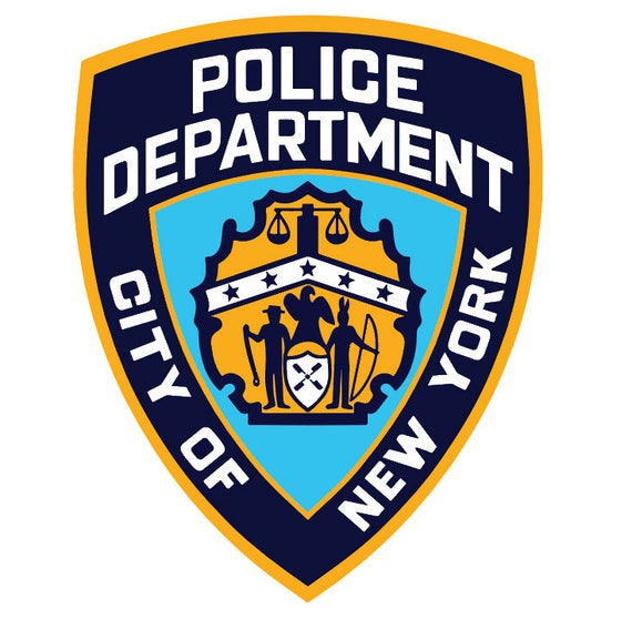 nypd shield new york city police department svg file rh etsy com nypd logo images nypd logo vector