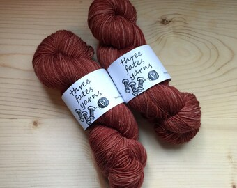 iambic pentameter - terra sock, fingering weight sock yarn