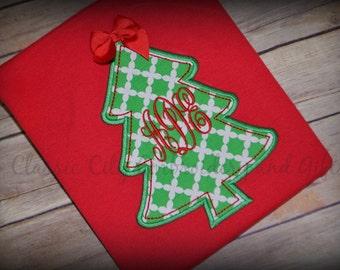 Girl Christmas shirt,- Christmas shirt,- Monogram shirt,- Christmas reindeer,- Christmas monogram,- Girl Christmas tree,- Monogram Christmas