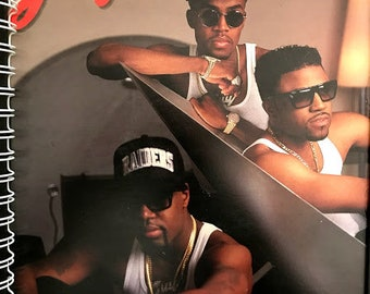 for the GUY - D-O-G Me Out  Teddy Riley & Aaron Hall FAN!  Album Cover Notebook /rare vinyl/
