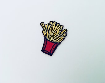 French Fry Iron On Patch