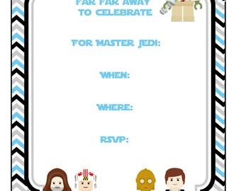printable lego star wars birthday invitations