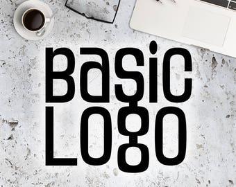 Custom Basic Logo