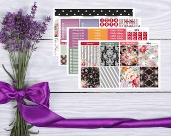 The Brighten Vertical Weekly Sticker Kit - Matte Sticker Kit