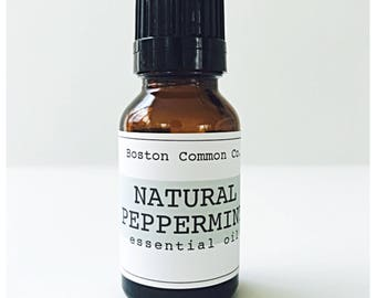 Pure natural peppermint essential oil / 15 ml natural peppermint essential oil