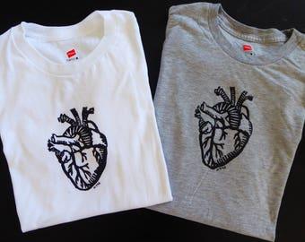 Anatomical Heart Tshirt