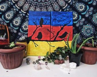 Black Birds, House Decoration