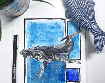 Contemporary - Watercolour Original