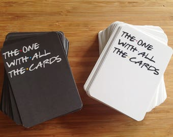 The One With All the Cards - Friends TV - Cards Against Humanity Parody (Printable Download)