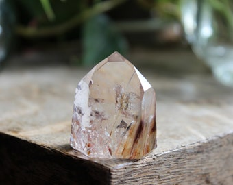 Amphibole, angel phantom, quartz tower, quartz point, quartz generator, crystal generator, rock stone, minerals gemstones, 9