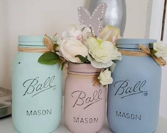 Hand Painted Mason Jar