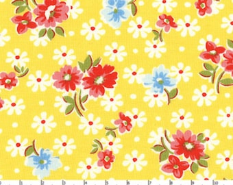 Old New 30's - Floral Yellow from Lecien