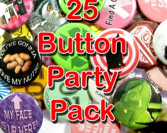 Pinback Button 25 pack